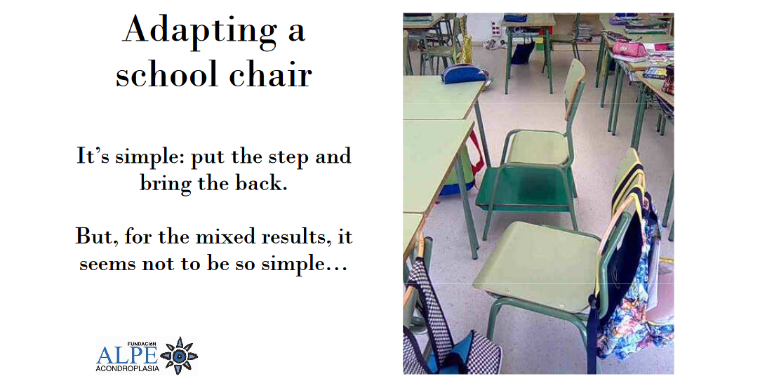 Adapted School Chairs